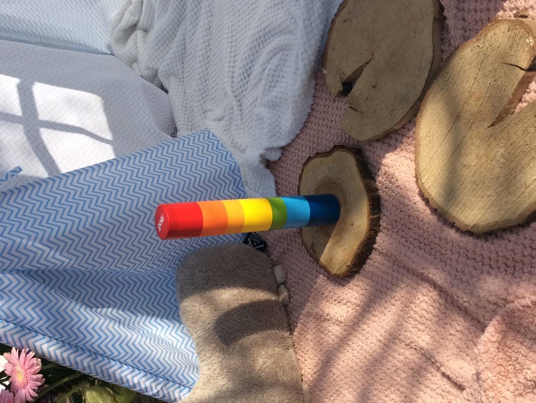 Regen regenboog instrument
